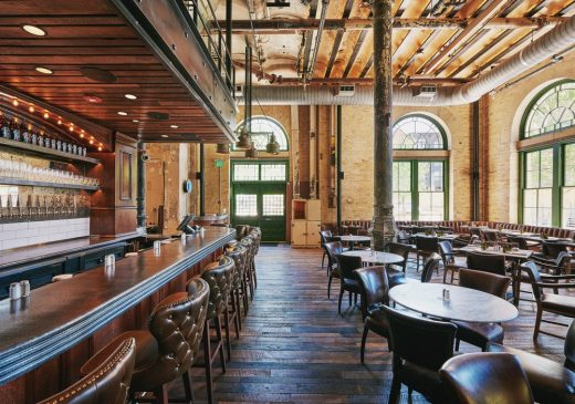 Southerleigh Fine Food and Brewery San Antonio building