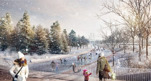 Tuchkov Buyan Park Saint Petersburg design by Agence Ter + Philippe Rahm architectes