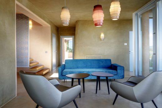 Villa Luxi Is Molas Sardinia interior design