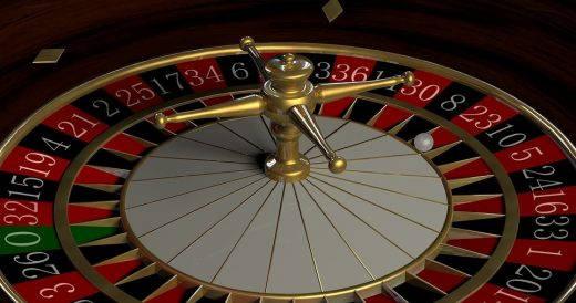 Roulette table casino for gamblers