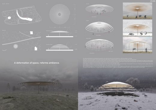 Winter Pavilion London Competition 2nd prize winner