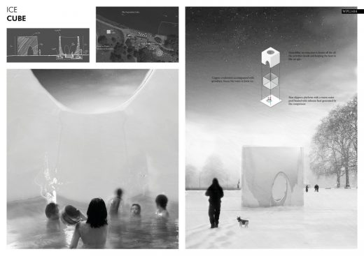 Winter Pavilion London Competition 3rd prize winner