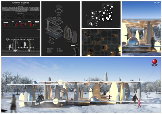 Winter Pavilion London Competition 1st prize winner