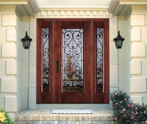 Wrought iron doors for your home