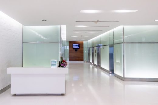 Acrylic in Healthcare Architecture