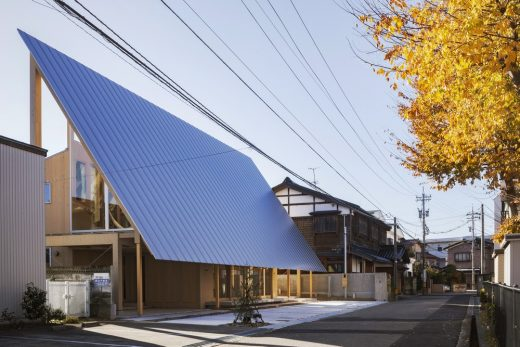 Canvas for Sky in Japan by Shota Nakanishi Architects