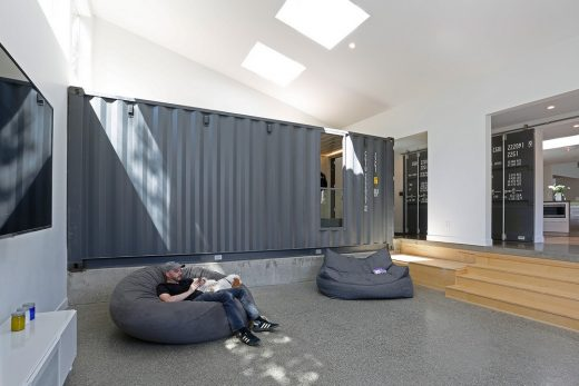 New Container House Mercer Island USA interior
