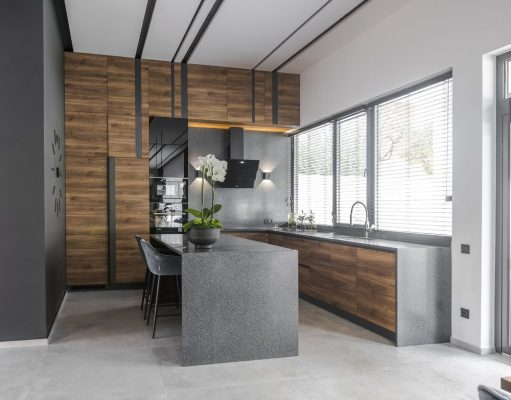 Modern Kyiv home Ukraine kitchen
