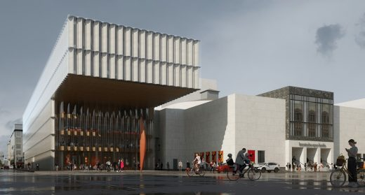 Komische Oper Berlin building design by REX