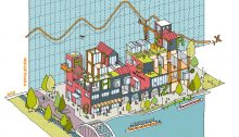 Meridian Water sustainable design contest Enfield by Assael Architecture