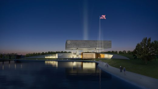 National Medal of Honor Museum building design