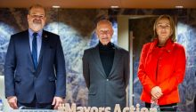 Norman Foster addresses first United Nations Forum of Mayors in Geneva