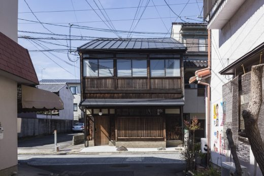 Ochaya House in Japan by Shigenori Uoya Architects and Associates