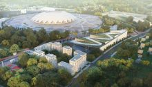 Samara Arena Stadium Masterplan Winner