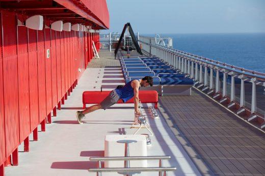 Scarlet Lady Cruise Ship