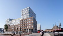 Student Hotel Delft building design by KCAP