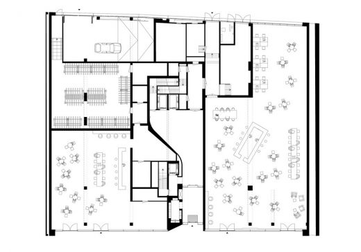 The Muse Rotterdam floor plan level 0
