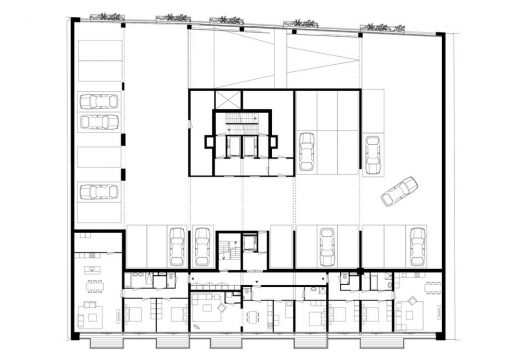 The Muse Rotterdam floor plan level 2