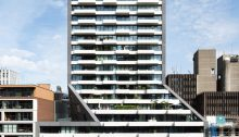 The Muse Rotterdam building by Barcode Architects