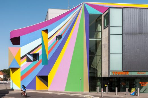 Towner Eastbourne art gallery building