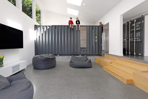 Wyss Family Container House Mercer Island
