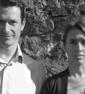 Isabelle Lomholt and Adrian Welch e-architect editors