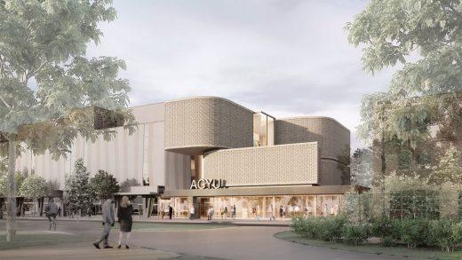 Art Gallery of York University building design