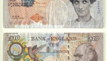 Banksy Di Faced Tenner - Princess Diana note
