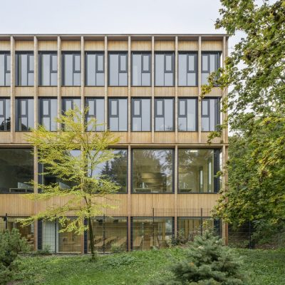 Library and seminar centre BOKU Vienna Architecture News
