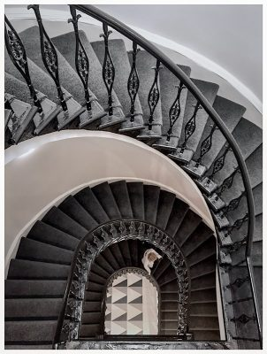 Chivas Brothers Glasgow offices stair