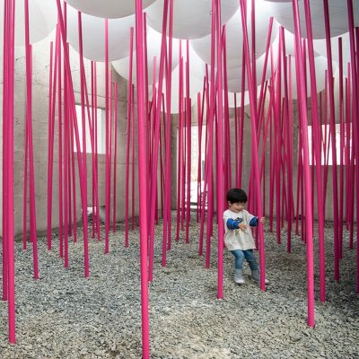 Cloud Forests Pavilion for Children's Play, Hwaseong, South Korea