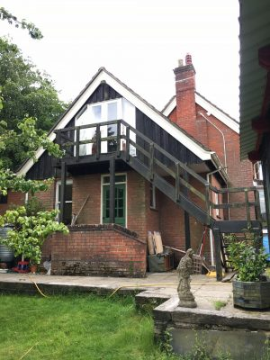 Edwardian home near Southampton