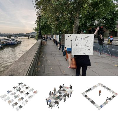 London Empowering Platforms design competition Thames Tablet by WoCo