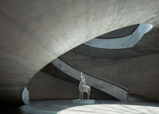 He Art Museum Shunde building by Tadao Ando in China