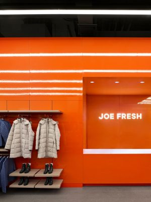 Joe Fresh Flagship Store Toronto