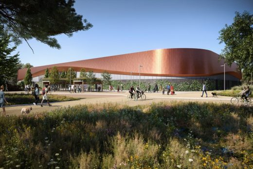 Lee Valley Ice Centre London architecture news