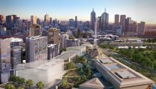 Melbourne Arts Precinct transformation design