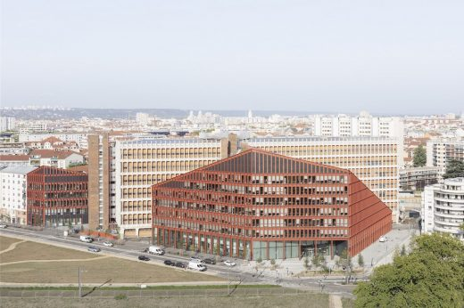 Orange Campus, Lyon Buildings