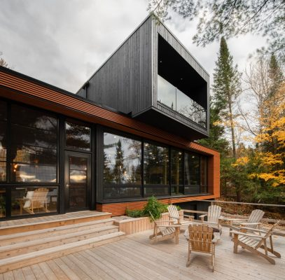 Prefabricated Country Home Ivry-sur-le-Lac