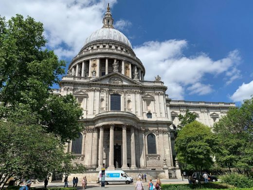 St Pauls Cathedral London building 2021