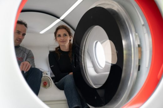 Virgin Hyperloop Trials first passenger ride
