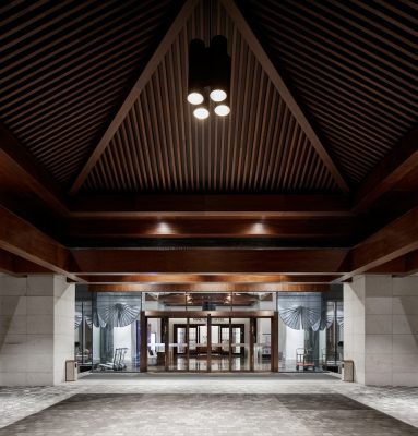 Zhejiang University West Residential College interior design