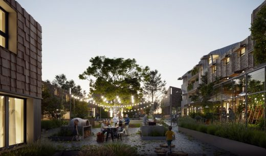 Home of 2030 DesignCompetition entry by Perpendicular Architecture
