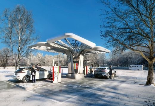 E.ON Ultra-fast Charging Stations Graft design