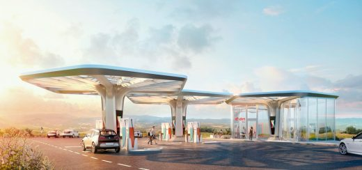 E.ON Ultra-fast Charging Stations by Graft