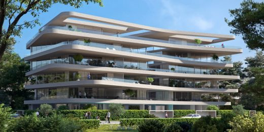 Greek Architecture News Τhe Wave Residential Building