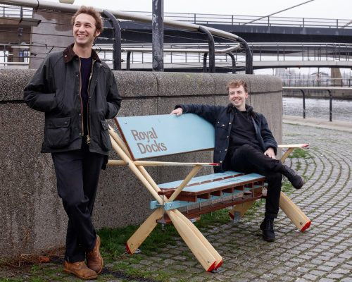 Royal Docks London Bench Designs Afloat