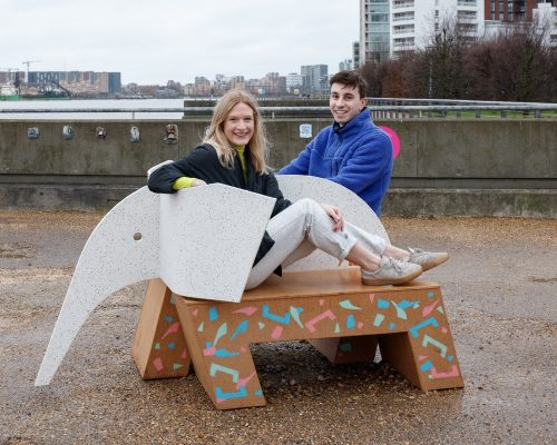 ELE-Bench by RAB Studio at Royal Docks London