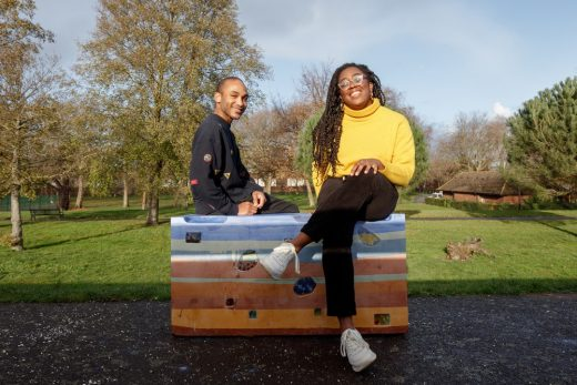 Royal Docks London Bench Designs Water, water everywhere by Betty Owoo and Quincy Haynes
