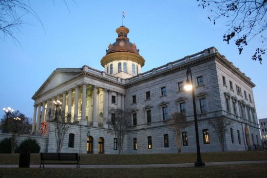 capitol of the State of South Carolina